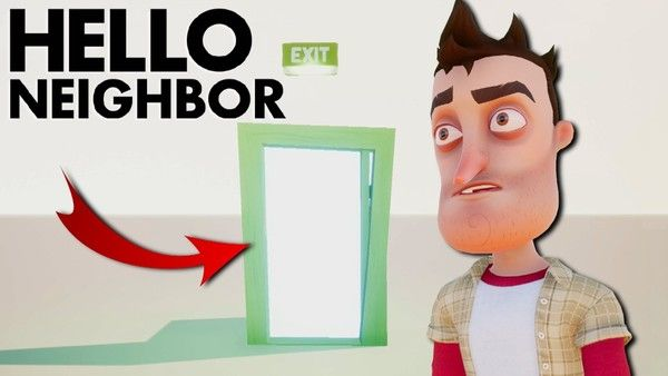 paranormal hello neighbor